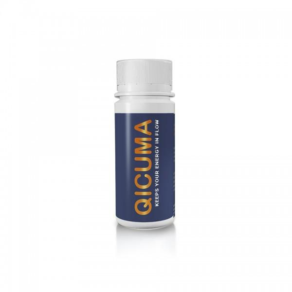 Four-week pack of QICUMA (Food supplement based on plant extracts, choline, Q10, zinc, magnesium and